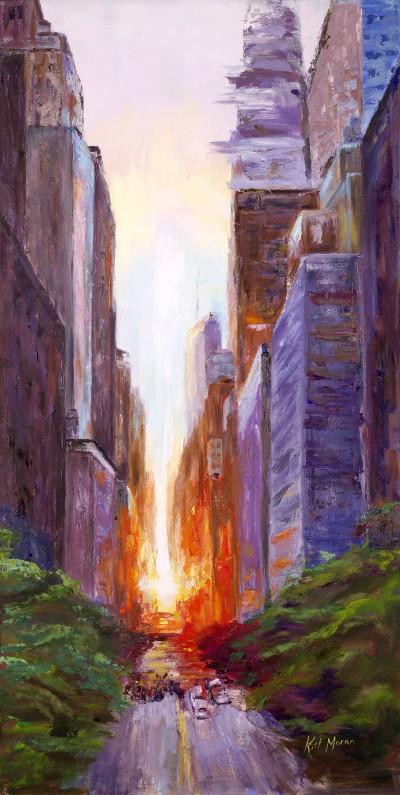 NY Sunset Serenade