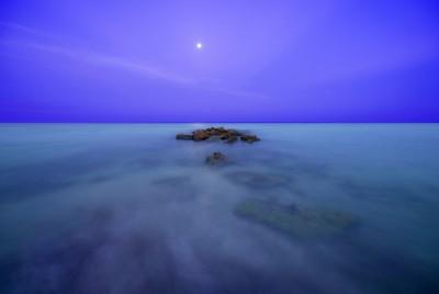 Casperson Beach Full Moon