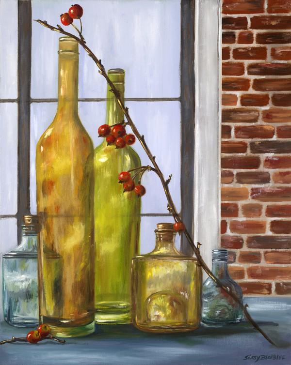 Bottles and Crabapples