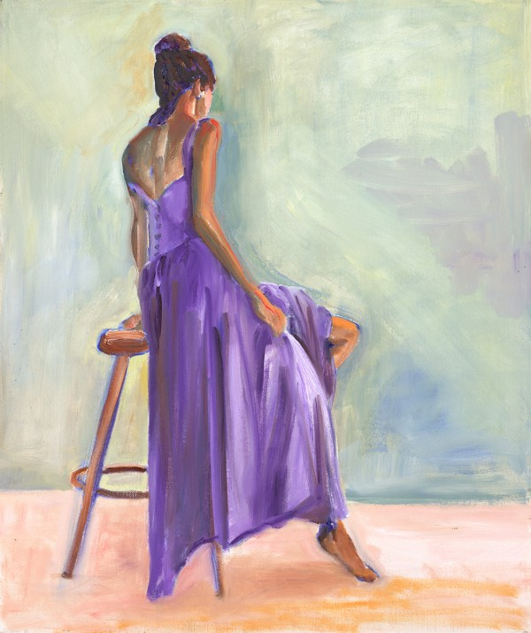 Lady in Purple