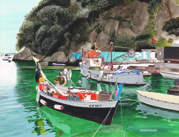 Amalfi Fisherman