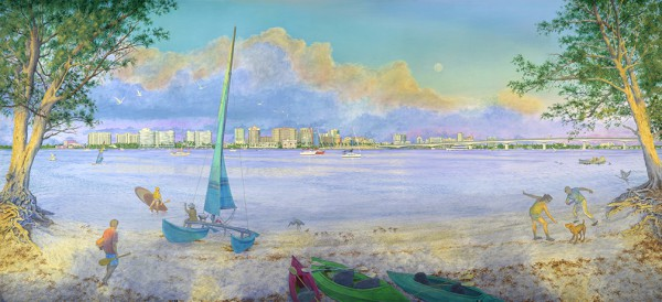 Our Sarasota (Single Canvas)
